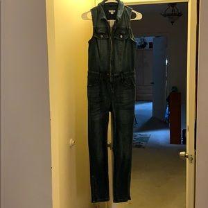 Brand new jean jumpsuit